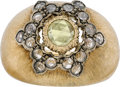 Estate Jewelry:Rings, Buccellati Diamond, Gold, Silver Ring. ...