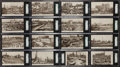 "Non-Sport Cards:Sets, 1912 La Beau ""Chicago, October, 1871"" (Chicago Fire) Post Card SGCGraded Complete Set (16). ..."