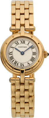 """Cartier Lady's Gold """"VLC"""" Watch"""