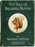 Books:Children's Books, Beatrix Potter. The Tale of Squirrel Nutkin. London:Frederick Warne and Co., 1903. First edition. Eighteenmo. Publi...