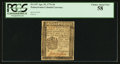 Colonial Notes:Pennsylvania, Pennsylvania April 25, 1776 3d PCGS Choice About New 58.. ...