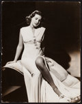 """Movie Posters:Miscellaneous, Brenda Marshall by George Hurrell (Warner Brothers, 1940). Trimmed Pinup Photo (10.5"""" X 13.5""""). Miscellaneous.. ..."""