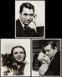 """Judy Garland in The Wizard of Oz & Others Lot (MGM, 1939). Reprint Portrait Photos (3) (11"""" X 14""""). Fantas..."""