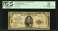 National Bank Notes:Tennessee, Lenoir City, TN - $5 1929 Ty. 2 The First NB Ch. # 8673. ...