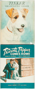 Books:Children's Books, Group of Two Children's Picture Books. Frances Cavanah and RuthCroomer Weir. Private Pepper Comes Home. Chicago: Al...(Total: 2 Items)