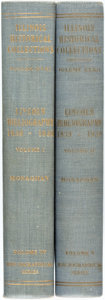 Books:Reference & Bibliography, [Bibliography]. Jay Monaghan. Lincoln Bibliography 1839-1939,Vols. I&II. Springfield: Illinois State Historical Lib...(Total: 2 Items)