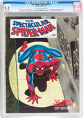 Magazines:Superhero, Spectacular Spider-Man #1 (Marvel, 1968) CGC NM- 9.2 Off-white towhite pages....
