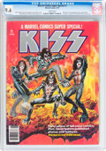 Magazines:Miscellaneous, Marvel Comics Super Special #1 KISS (Marvel, 1977) CGC NM+ 9.6 White pages....