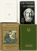 Books:Literature Pre-1900, Group of Four Books of Homeric Fiction. Various publishers anddates. Two twelvemos, two octavos. Publisher's cloth bindings...(Total: 4 Items)