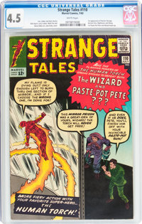 Strange Tales #110 (Marvel, 1963) CGC VG+ 4.5 White pages