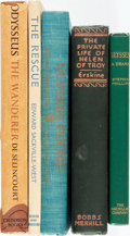 Books:Literature 1900-up, Group of Five Works of Fiction Based on Homeric Themes. Various publishers and dates. Octavos. Publisher's cloth bindings, o... (Total: 5 Items)