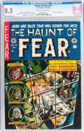 Golden Age (1938-1955):Horror, Haunt of Fear #16 (EC, 1952) CGC VF+ 8.5 Off-white to whitepages....