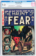 Golden Age (1938-1955):Horror, Haunt of Fear #21 (EC, 1953) CGC VF/NM 9.0 Off-white to whitepages....