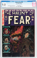 Golden Age (1938-1955):Horror, Haunt of Fear #25 (EC, 1954) CGC VF/NM 9.0 Off-white to whitepages....