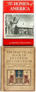 Books:Art & Architecture, [Interior Design]. Harold Donaldson Eberlein, Abbot McClure and Edward Stratton Holloway. The Practical Book of Interior... (Total: 2 Items)