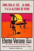 "Movie Posters:Sports, The Endless Summer (Columbia, 1966). Argentinean Poster (29"" X 43.5""). Sports.. ..."
