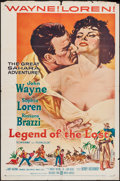 """Movie Posters:Adventure, Legend of the Lost (United Artists, 1957). One Sheet (27"""" X 41""""). Adventure.. ..."""