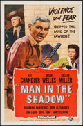 "Movie Posters:Drama, Man in the Shadow & Other Lot (Universal International, 1958). One Sheets (2) (27"" X 41""). Drama.. ... (Total: 2 Items)"