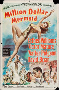 "Movie Posters:Musical, Million Dollar Mermaid (MGM, 1952). One Sheet (27"" X 41""). Musical.. ..."