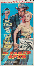 "Movie Posters:Western, The Naked Spur (MGM, 1953). Three Sheet (41"" X 78""). Western.. ..."