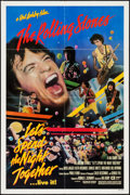 "Movie Posters:Rock and Roll, Let's Spend the Night Together (Embassy, 1983). One Sheet (27"" X41""). Rock and Roll.. ..."