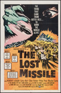 "Movie Posters:Science Fiction, The Lost Missile (United Artists, 1958). One Sheet (27"" X 41"").Science Fiction.. ..."