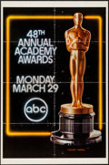 "Movie Posters:Academy Award Winners, 48th Academy Awards Poster (AMPAS, 1976). One Sheet (27"" X 41"").Miscellaneous.. ..."