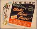 "Movie Posters:Animation, Make Mine Music (RKO, 1946). Half Sheet (22"" X 28"") Style A. Animation.. ..."