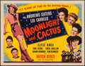 """Movie Posters:Musical, Moonlight and Cactus (Universal, 1944). Half Sheet (22"""" X 28"""").Musical.. ..."""