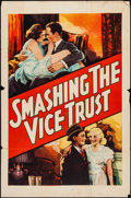 "Movie Posters:Exploitation, Smashing the Vice Trust (Willis Kent Productions, 1937). One Sheet(27"" X 41""). Exploitation.. ..."