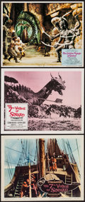 "Movie Posters:Fantasy, The 7th Voyage of Sinbad & Other Lot (Columbia, 1958 &R-1971). Lobby Cards (3) (11"" X 14""). Fantasy.. ... (Total: 3Items)"