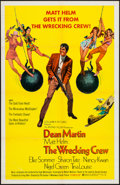 "Movie Posters:Action, The Wrecking Crew (Columbia, 1969). One Sheet (27"" X 41""). Action....."