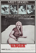 "Movie Posters:Sexploitation, Ginger & Others Lot (Joseph Brenner Associates, 1971). OneSheets (3) (27"" X 41"", 27.5"" X 41"", & 28"" X 42"").Sexploitation.... (Total: 3 Items)"