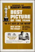 "Movie Posters:Academy Award Winners, In the Heat of the Night (United Artists, 1967). One Sheet (27"" X41"") Academy Award Style. Drama.. ..."