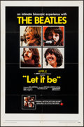 "Movie Posters:Rock and Roll, Let It Be (United Artists, 1970). One Sheet (27"" X 41""). Rock andRoll.. ..."