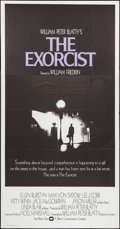 "Movie Posters:Horror, The Exorcist (Warner Brothers, 1974). International Three Sheet (41"" X 79""). Horror.. ..."