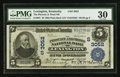 National Bank Notes:Kentucky, Lexington, KY - $5 1902 Plain Back Fr. 601 The Phoenix & ThirdNB Ch. # (S)3052. ...
