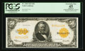 Large Size:Gold Certificates, Fr. 1200 $50 1922 Gold Certificate PCGS Apparent Extremely Fine45.. ...