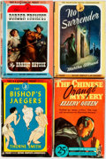 Books:Pulps, [Vintage Paperbacks]. Group of Fours Vintage Pocket Books Paperbacks. New York: Pocket Books, [1940s]. Includes works by Tho... (Total: 4 Items)