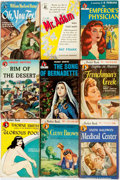 Books:Pulps, [Vintage Paperbacks]. Group of Nine Vintage Pocket BooksPaperbacks. New York: Pocket Books, [1940s]. Includes works byThor... (Total: 9 Items)