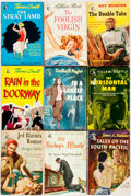 Books:Pulps, [Vintage Paperbacks]. Group of Nine Vintage Pocket Books Paperbacks. New York: Pocket Books, [1940s]. Includes works by Jame... (Total: 9 Items)