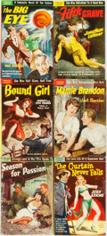 Books:Pulps, [Vintage Paperbacks]. Group of Six Vintage Popular LibraryPaperbacks. New York: Popular Library, [1950s]. Includes worksby... (Total: 6 Items)