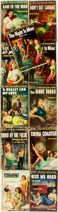 Books:Pulps, [Vintage Paperbacks]. Group of Eleven Vintage Popular Library Paperbacks. New York: Popular Library, [1950s]. Includes work... (Total: 11 Items)