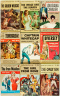 Books:Pulps, [Vintage Paperbacks]. Group of Seventeen Vintage G-Series PopularLibrary Paperbacks. New York: Popular Library, [1950s]. In...(Total: 17 Items)