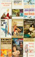 Books:Pulps, [Vintage Paperbacks]. Group of Vintage Popular Library Paperbacks.New York: Popular Library, [1950-60s]. Includes works by... (Total:23 Items)