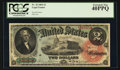 Large Size:Legal Tender Notes, Fr. 42 $2 1869 Legal Tender PCGS Extremely Fine 40PPQ.. ...