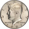 Kennedy Half Dollars, 1987-P 50C MS68 PCGS....