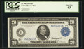 Large Size:Federal Reserve Notes, Fr. 998 $20 1914 Federal Reserve Note PCGS Choice New 63.. ...