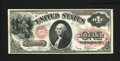 Fr. 27 $1 1878 Legal Tender Very Fine. Nice color, margins, and paper for this attractive mid-grade Ace with plate numbe...