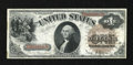 Fr. 29 $1 1880 Legal Tender Very Fine. The colors are nice on this large brown seal example that has a pinhole in the po...